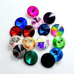 rivoli stiklo kristalai