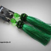 auskarai žali 01
