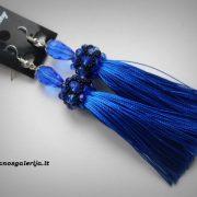 auskarai mėlyni 01