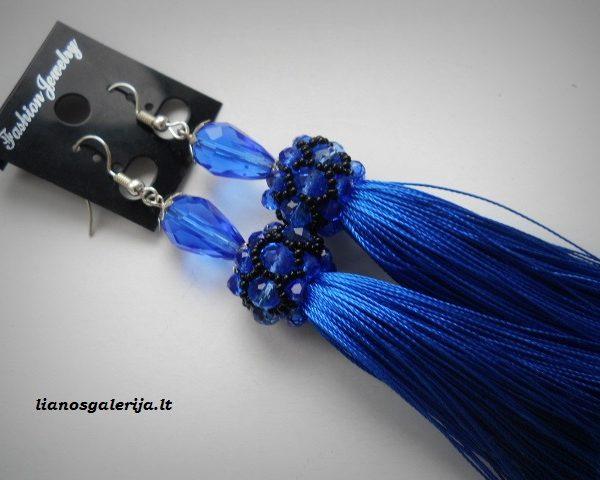 auskarai mėlyni 02