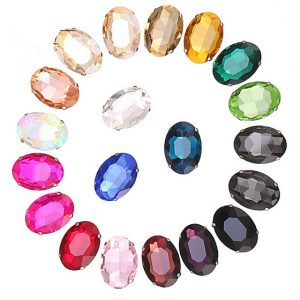 ovalo formos kristalai