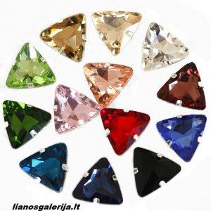 trikampio formos kristalai